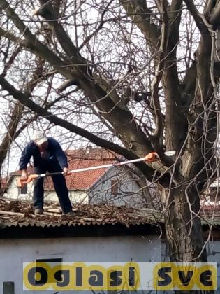 Kosenje trave - Secenje drveca