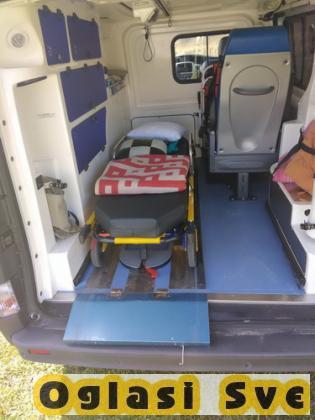 Sanitetski prevoz pacijenata sa adekvatnom ekipom u zemlji i inostrenstvu 24h/7 dana u nedelji