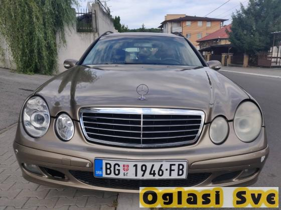Mercedes Benz E 220 CDI. 150ks 2200 kubika, godiste 2005