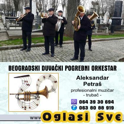 Trubači bleh muzika orkestar za sahrana Srbija