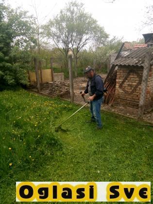 Kosenje trave - Uredjenje zelenih površina
