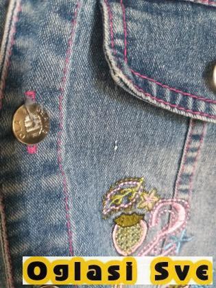 decija teksas jakna