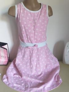 decija roza haljina