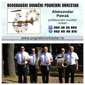 Orkestar za sahrane  trubači pogrebi Beograd Srbija