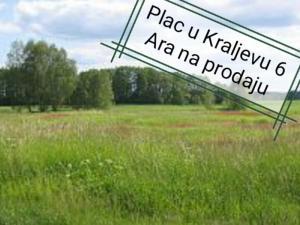 Plac - Zemljište 6 Ara u Kraljevu naselje Grdica na prodaju